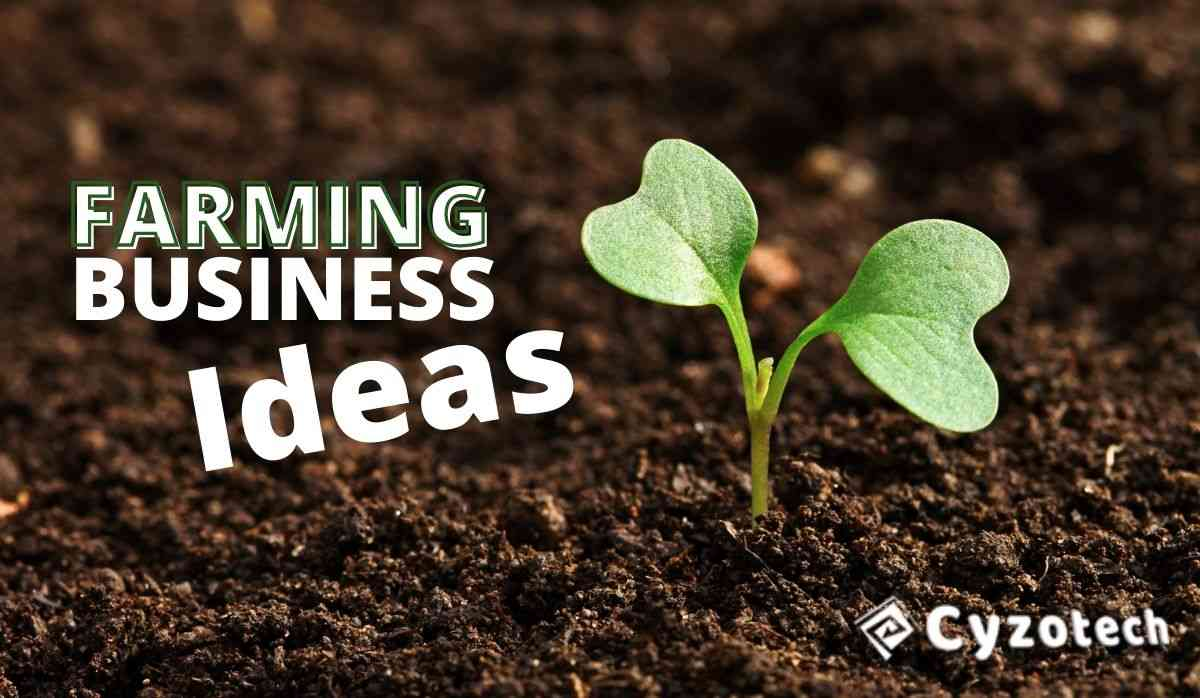 Farming Business Ideas