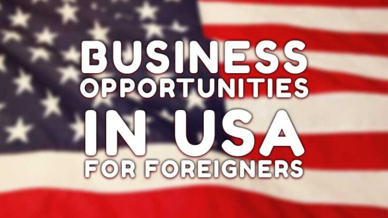 Business Opportunities in USA for Foreigners – 10 Business Ideas