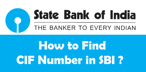 What is CIF Number in SBI, Central Bank of India, and Indian Bank