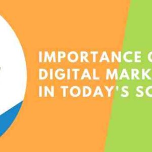 importance of digital marketing in today's scenario